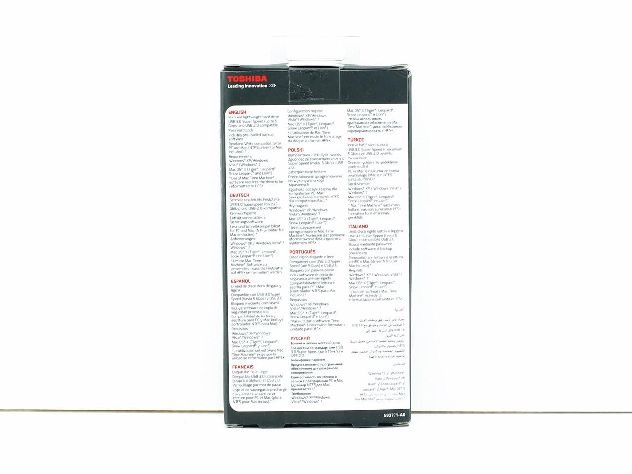 toshiba 500gb external hard drive manual